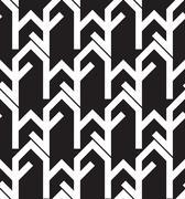Geometry seamless vector pattern Stock Illustration