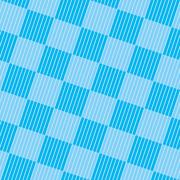 Light Blue Checkered Seamless Pattern. Stock Illustration