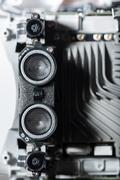 Close up of motors part Stock Photos