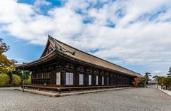 Sanjusangen-do Buddhist temple in Kyoto, Japan Stock Photos