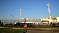 Stadium Monumental of Chile. Stock Footage