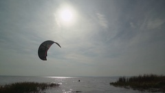 Kitesurfing surface water sports Arkistovideo