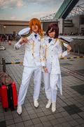 Uta no Prince-sama cosplay in Tokyo Stock Photos