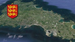 Vale with Coat Of Arms Animation Map Stock Footage