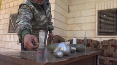 November 2016: Homemade bombs, ISIS war, war news, SDF, Syria, Iraq, Mosul Arkistovideo