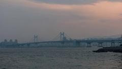 Busan city skyline day to night timelapse, Busan, South Korea, 4K Time lapse Stock Footage