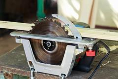 The circular saw Stock Photos