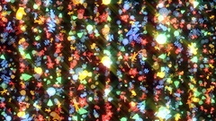 Colorful New Year and Christmas Motion Pattern Rays Stock Footage