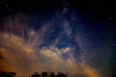 Shine of night stars on sky Kuvituskuvat
