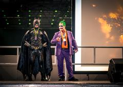 Batman and Joker Cosplay Kuvituskuvat