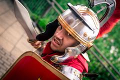 Male cosplayer at the Yorkshire Cosplay Convention Stock Photos