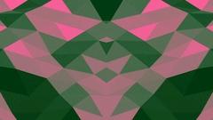 Colored Digital Waves Vj Loop Background Stock Footage