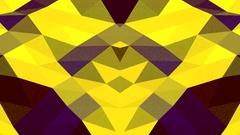 Yellow Digital Waves Vj Loop Background Stock Footage