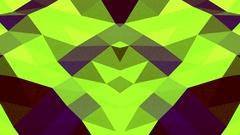 Green Digital Waves Vj Loop Backgrounds Stock Footage