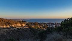 24p Ventura California day to night time lapse Stock Footage