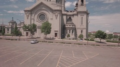Cathedral of Saint Paul Stock Footage