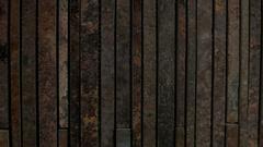 Stone wall. Pattern of Modern Brick Wall. Sandstone. Stock Footage