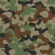 Modern fashion vector trendy camo pattern Stock Illustration