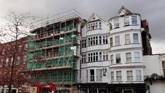 Royal Clarence Hotel, Exeter, Devon, UK Stock Footage