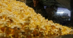 Popcorn Stall at Yankee Stadium, The Bronx Stock Footage