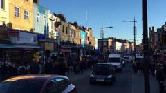 Camden Town in London, United Kingdom Stock Footage