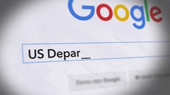 Google Search Engine - Search For US Department of Labor Stock Footage