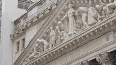New York Stock Exchange, Manhattan Stock Footage
