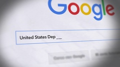 Google Search Engine - Search For US Department of Homeland Security Stock Footage