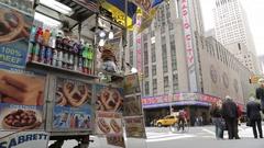 Radio City Music Hall, Manhattan Stock Footage
