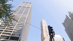 MetLife Building & 51st Street, Manhattan Stock Footage