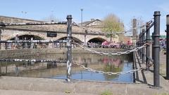 Sheffield Basin, City Centre, Sheffield, South Yorkshire Stock Footage