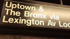 Subway Train, The Bronx Stock Footage