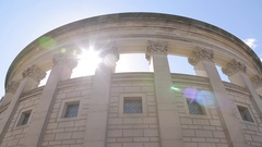 City Hall in City Centre, Sheffield, South Yorkshire Stock Footage
