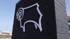 Derby County Football Ground, Derby Derbyshire Stock Footage