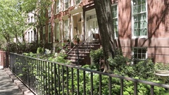Accommodation in Chelsea, Manhattan Stock Footage