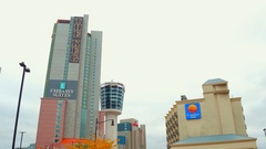 Niagara Falls Ontario scenic destination Stock Footage