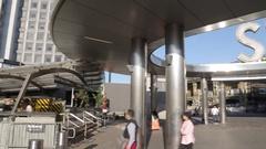 Staten Island Ferry Terminal, Manhattan Stock Footage