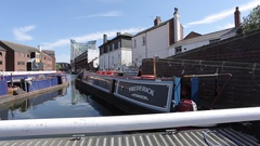 Birmingham Canal Old Line, Birmingham, West Midlands Stock Footage