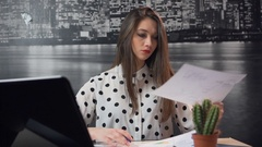 Office Work Impasse Stock Footage