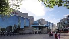 ICC, Rep Theatre & Library, Birmingham, West Midlands Stock Footage