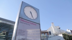 Millennium Galleries in City Centre, Sheffield, South Yorkshire Stock Footage