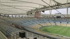 Maracana Stadium, Rio de Janeiro Stock Footage