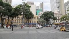 Igreja de S?o Francisco de Paula, Central District of Rio de Janeiro, Rio de Stock Footage