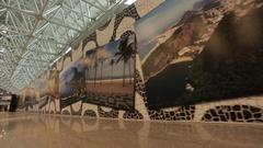 Galeao International Airport, Rio de Janeiro Stock Footage
