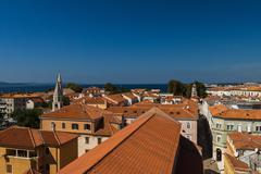 Zadar, Dalmatia, Croatia Stock Photos