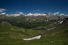 Grossglockner High Alpine Road, Austria Stock Photos