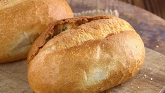 Fresh made Buns (not loopable; 4K) Stock Footage