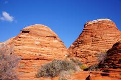 The Wave, Vermilion Cliffs National Monument, Arizona, USA Stock Photos