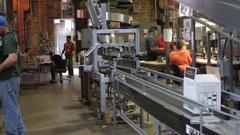 Woodford Reserve bottling plant Stock Footage