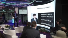 Moscow technological forum Open Innovations 2016 in Technopark Skolkovo Stock Footage